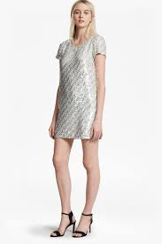 snow sequins tunic dress sale french connection usa