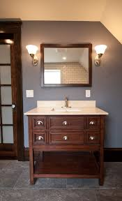 Lighting A Match In The Bathroom by Harvard Bathroom Design Build Manage