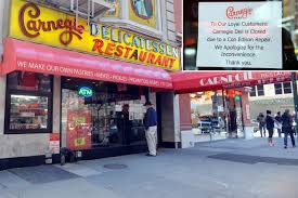 carnegie deli shut down over possible illegal gas hookup new