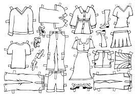 beth u0026 john u0027s wedding paper doll clothes