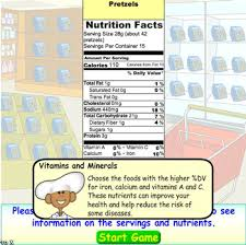 food label information and facts tutorial section