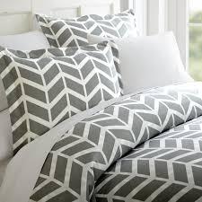 arrow patterned 3 piece duvet cover set u2013 linens and hutch