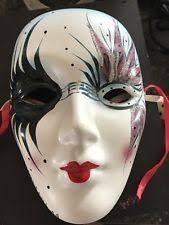 mardi gras ceramic masks porcelain mardi gras mask ebay