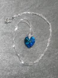 crystal heart necklace images Diy make a stunning crystal heart necklace for less than 3 jpg