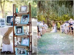 vintage style backyard wedding rustic wedding chic