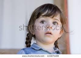 cute 2 year old hairstyles fir boys cute little girl dandelion her hair stock photo 415875499