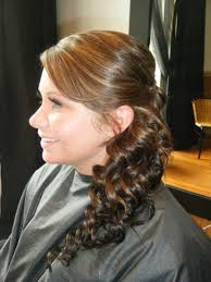 prom hairstyles side curls side pony hair makeup nails pinterest side pony ponytail and