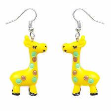 giraffe earrings gerry giraffe earrings jewellery accessories irregular choice