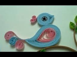 paper quilling birds tutorial quilling made easy how to make beautiful bird design using paper