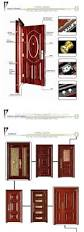 quality nigeria steel door design main gate steel door single leaf