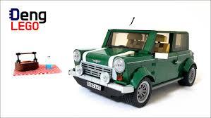 lego mini cooper engine lego creator 10242 mini cooper lego speed build youtube