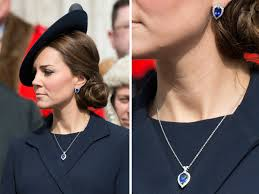 kate middleton earrings let s get a look at kate middleton s new blue jewels the