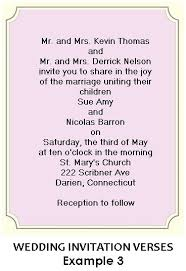 Wedding Invitation Verses Wedding Invitations Vizio Wedding