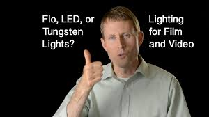 what is tungsten light video lighting flo vs led vs tungsten pros and cons of each video