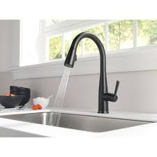 Delta Faucets Kitchen Sink by Delta Addison Kitchen Faucet Roselawnlutheran