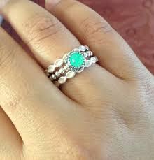 Pandora Wedding Rings by Striking Pandora Combination The Chrysoprase Against The White