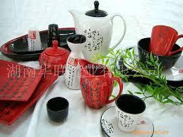 stoneware dinner set chinese fashion