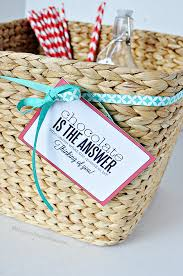 raffle basket themes gift basket idea coordinating tags