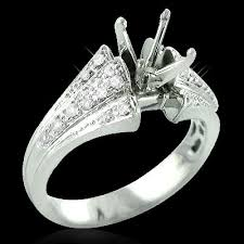 ring setting 14k gold diamond engagement ring setting 0 32ct