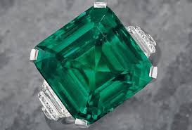 emerald harry winston pays 5 5 million for rockefeller emerald most