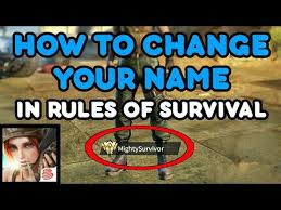 Of Survival How To Change Your Name In Of Survival