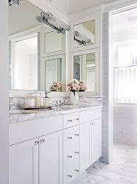 White Carrera Marble Bathroom - bhg centsational style
