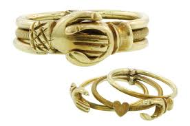 gimmel ring gold fede gimmel ring featuring three movable attached rings