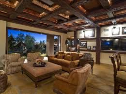 Living Room Ceiling Beams 20 Living Room Designs With Exposed Roof Beams Rilane Home