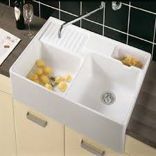 And Boch Butler  Double Bowl Ceramic Kitchen Sink - Ceramic kitchen sinks uk
