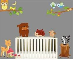 online get cheap bird zoo aliexpress com alibaba group bear owl deer squirrel bird animal wall stickers for kids room decorations cartoon wall art zoo