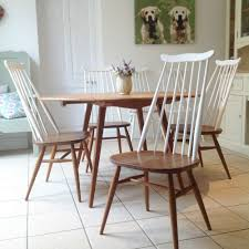 Ercol Dining Chair Ercol Table And Chairs Ercol Elm Table 6 Ercol Chairs 1960