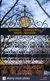 national ornamental metal museum is the only one if its in