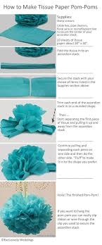 how to use tissue paper in a gift box best 25 tissue pom poms ideas on tissue paper poms