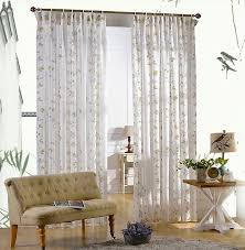 Curtains And Sheers Birds And Leaf Design Modern Sheer Curtains Buy White Sheer