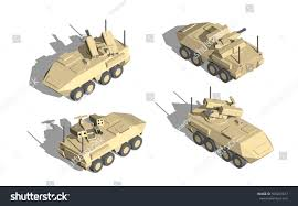 military transport vehicles military transportation isometric vector armor vehicle stock