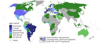 The Best Map Of The World by 22 Maps That Explain The World Cup Vox Com