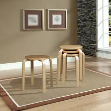 linon home 1771nat 04 as u linon home 17 bentwood stool natural