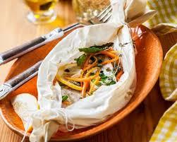 dorade cuisine recette papillote de dorade et julienne de légumes facile rapide