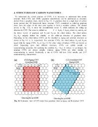 Armchair Zigzag Carbon Nanotubes Properties And Applications