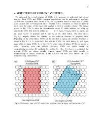 Armchair Carbon Nanotubes Carbon Nanotubes Properties And Applications