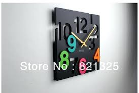 designer kitchen clocks modern kitchen clocks hermelin me