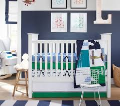 Airplane Crib Bedding Airplane Baby Bedding Set Pottery Barn