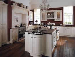 The Latest Kitchen Designs by Kitchen Style Wood Floor With Black Wall Kitchen Design Ideas
