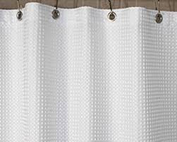 Shower Curtain Liners Shower Curtains 72 Waffle Fabric Shower Curtain