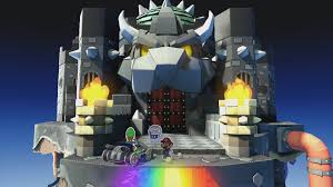 colors splash black bowser u0027s castle paper mario color splash walkthrough