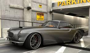 classic volvo sedan volvo p1800 restomod concept custom classic cars pinterest