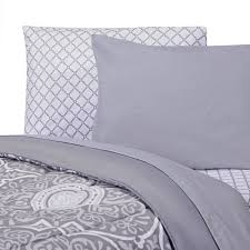 calypso gray college classic twin xl comforter dorm bedding and