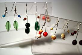 easy earrings how to make easy two bead earrings craftstylish