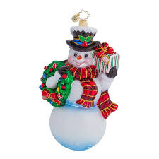 193 best christopher radko snowman ornaments images on pinterest