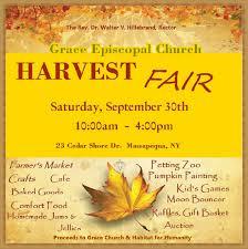 massapequa grace church u0027s annual harvest fair macaroni kid
